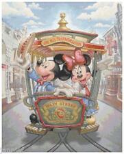 "Disney's Mickey and Minnie Mouse ""Main Street USA"" Cross Stitch Pattern CD"