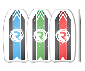 Riber Body Board   Bodyboard - Crescent Tail - EPS Core Surfing Beach Family