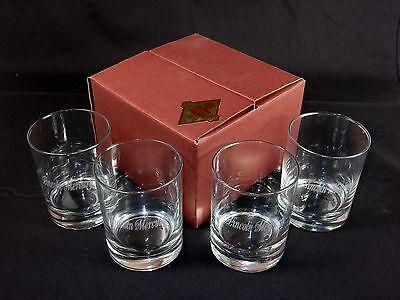 14 Oz Rocks Whiskey Glasses Set Of 4 J Charles Crystalworks Lincloln Mercury Ebay