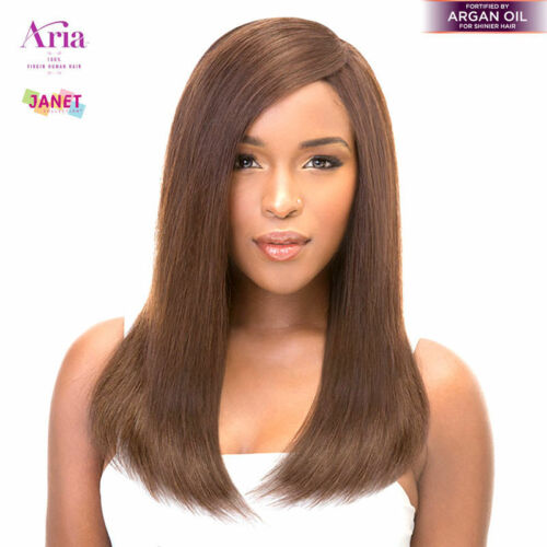 100% Virgin Human Hair Natural Yaky by Janet Collection Aria Yaky Weave hair