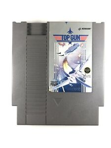 Top-Gun-for-Original-Nintendo-NES-Video-Game-System-Authentic-Tested-Working