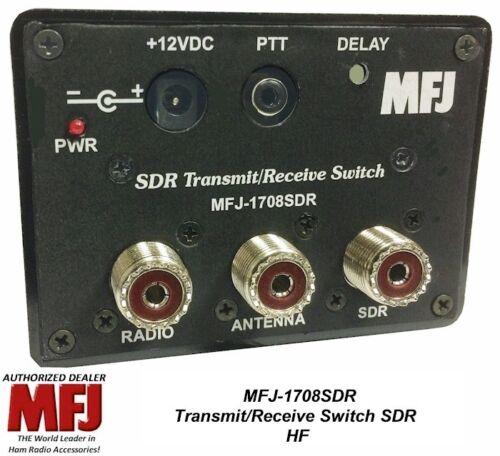 HF Transmit//Receive Switch For SDR MFJ-1708SDR Antenna switch 200W SSB PEP