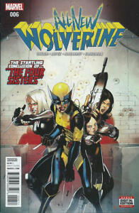 All New X-Men #4 Regular 1st print 2016 Marvel Comics NM X-23 Cover