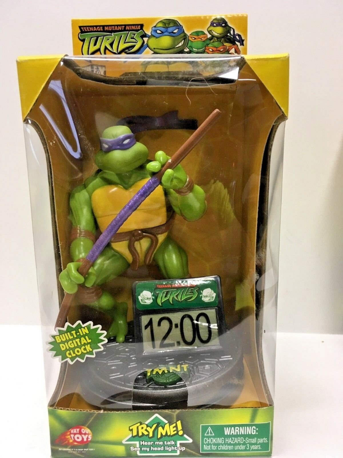 Teenage Mutant Ninja Turtles 2003 Digital Reloj-Coleccionables-Donatello