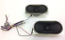 "Sanyo DP32647 32"" TV Speaker Set Left & Right w/ Wires & Noise Filter LBB08800"