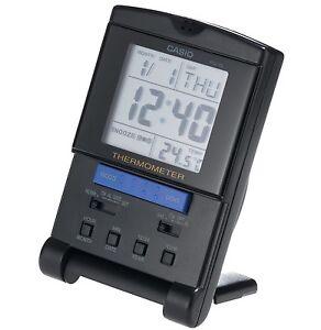 Casio-Clock-PQ15-1HK-Digital-Travel-Clock-w-Thermometer-Black-COD-PayPal