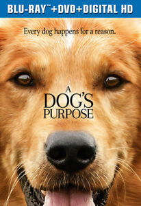 A-Dog-039-s-Purpose-New-Blu-ray-With-DVD-UV-HD-Digital-Copy-2-Pack-Digitally