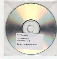 (FF484) Ben Westbeech, So Good Today - DJ CD
