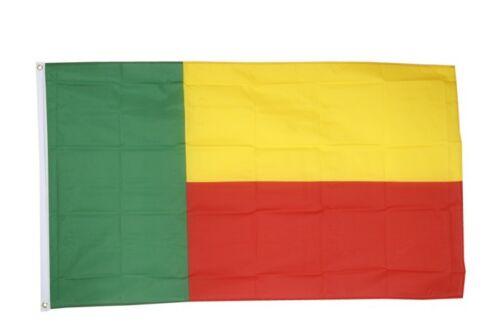 Fahne Benin Flagge beninische Hissflagge 90x150cm