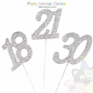 Glitter-Picks-Silver-Numbers-Celebration-Cake-Decoration-Toppers
