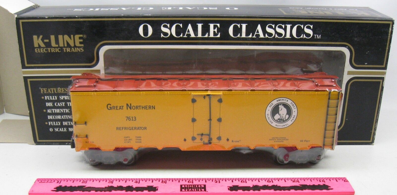 K-Line  K-7613 Great Northern Classic Reefer
