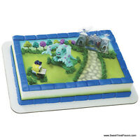 Monsters Inc Cake Party Birthday Supplies Decoration Cupcake Kit Sully Boo Mike