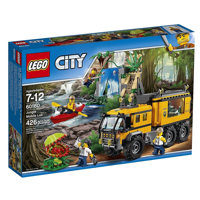 LEGO® City: Jungle Mobile Lab Building Play Set 60160 NEW NIB
