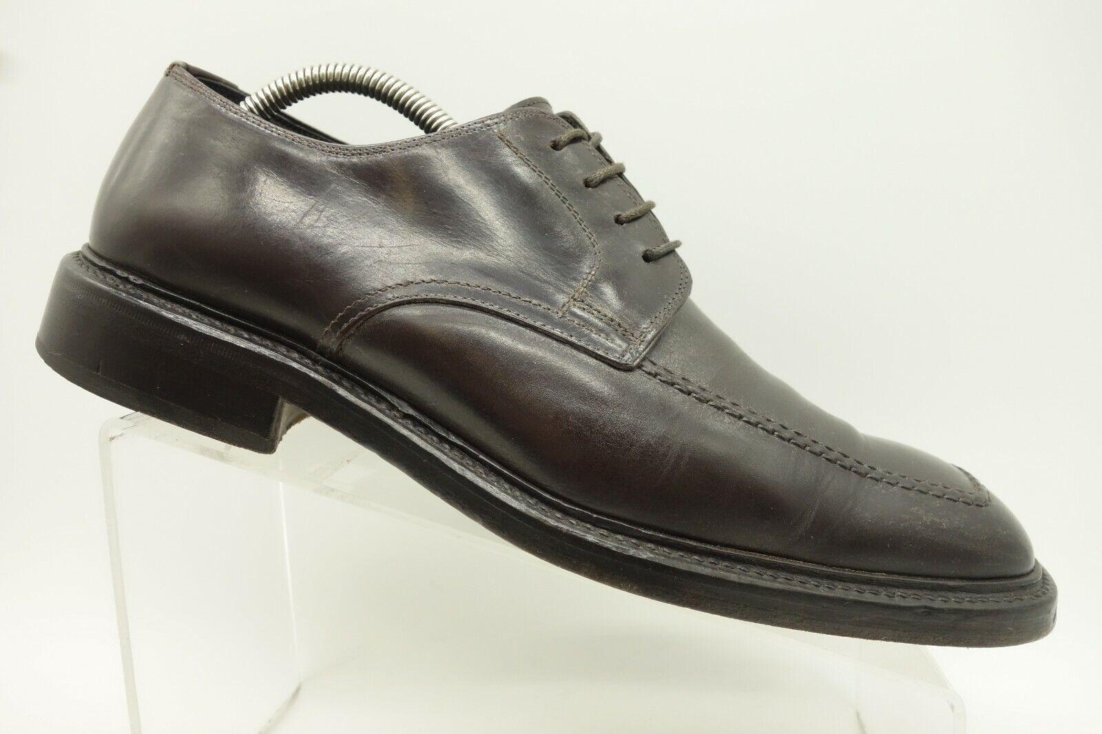 presentando tutte le ultime tendenze della moda To avvio New York  Marrone Leather Leather Leather Dress Casual Oxford scarpe Uomo 10.5  risparmia fino al 70% di sconto