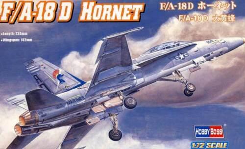 -225 VFA-106 1:72 Modell-Bausatz kit AW HobbyBoss F//A-18D HORNET US Marine VWFA