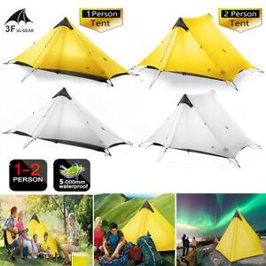1-2Person-LanShan-3F-UL-GEAR-Outdoor-Ultralight-Camping-Tent-3Season-Backpacking