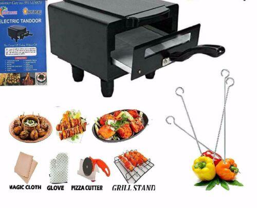 Mini ELECTRIC TANDOOR BBQ Grill CHAPATI /ROTI Tandoori MAKER CHICKEN,FISH,BARBIq