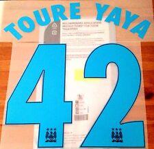 2015-16 Manchester City Away Camiseta Toure Yaya UCL #42 sportingid nombre número Set