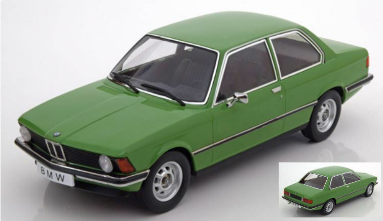 Bmw 318i (e21) 1975 verde 1 18 Model KK Scale