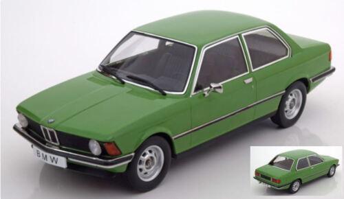e21 Bmw 318i 1975 Green 1:18 Model KK SCALE