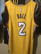 1fe76e72115 item 8 LONZO BALL Los Angeles LAKERS  17 Nike NBA ICON Edition Gold SWINGMAN  Jersey XL -LONZO BALL Los Angeles LAKERS  17 Nike NBA ICON Edition Gold ...