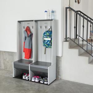 Image Is Loading Storage Locker Shoe Organizer System Coat Hooks Kids