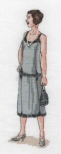 CL169 1920s Lady  Cocktail Dress 20th Century Costume Cross Stitch Chart - HULL, East Riding of Yorkshire, United Kingdom - CL169 1920s Lady  Cocktail Dress 20th Century Costume Cross Stitch Chart - HULL, East Riding of Yorkshire, United Kingdom