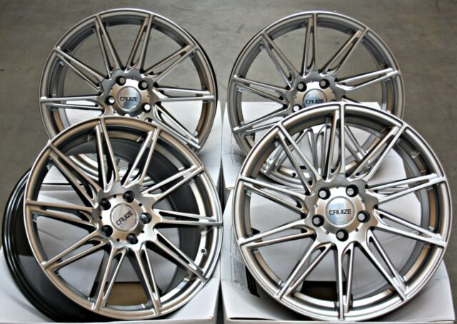 "ALLOY WHEELS 18"" CRUIZE TURBINE HS FIT FOR MERCEDES V CLASS W447 VIANO W639"