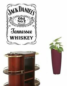 Giant-Jack-Daniel-039-s-Wall-Sticker-Old-no-7-Whiskey-Jack-Daniels-Art-mural-57-40cm
