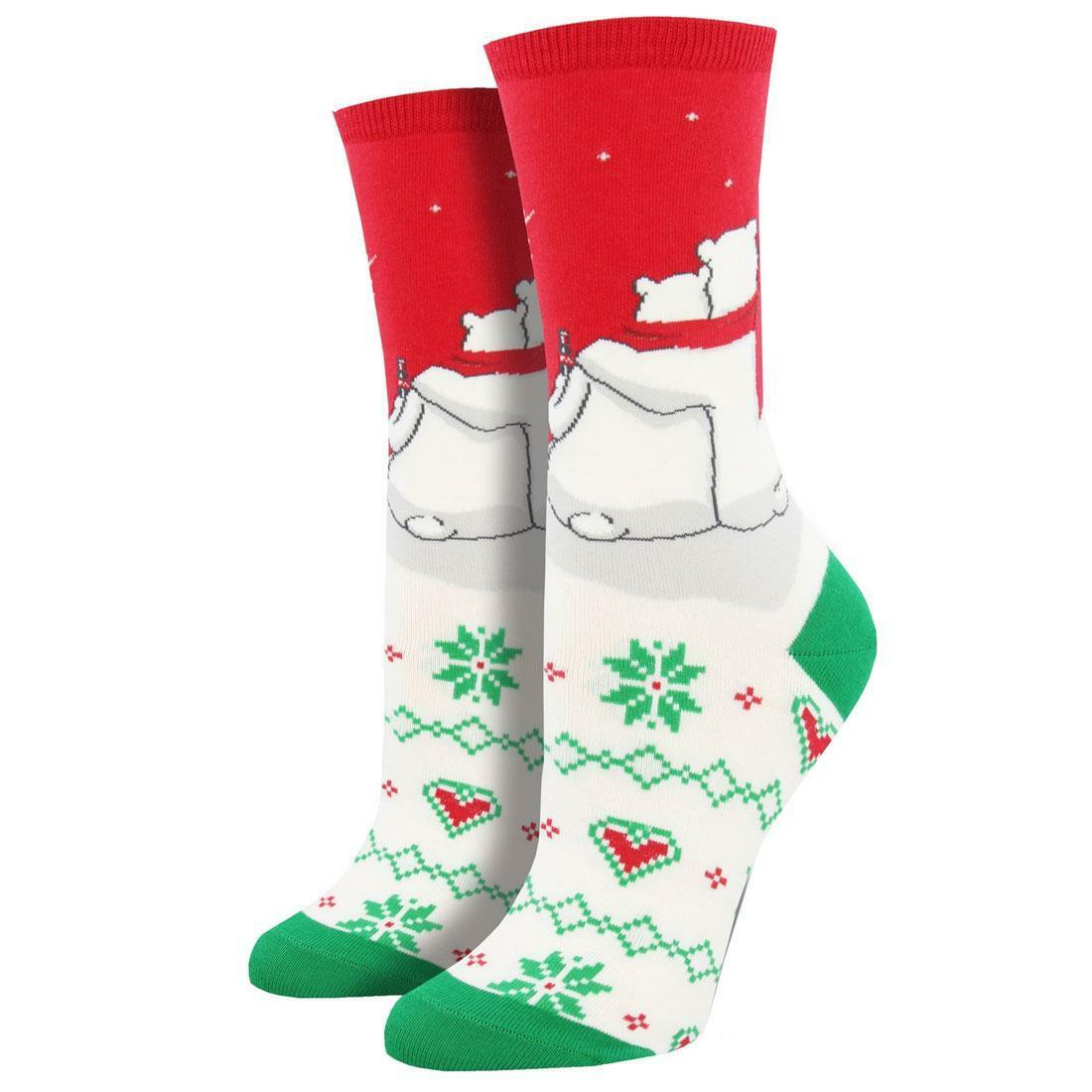 You Don/'t Gnome Me Hot Sox Women/'s Crew Socks Grey New Novelty Red Hat Fashion
