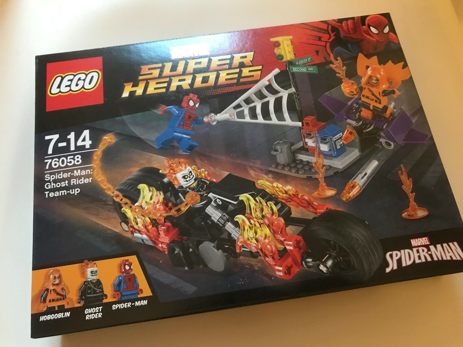 LEGO 76058 Super Heroes Spider-Man Ghost Rider Team-up - Brand New SEALED