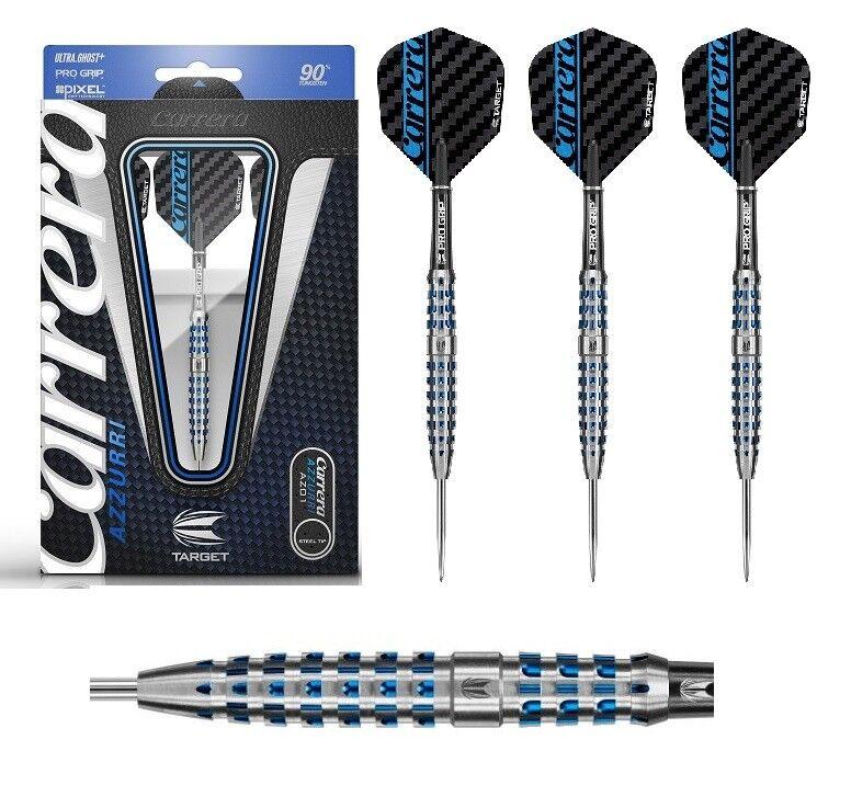 Target Dart - Carrera Azzurri AZ01 24g 26g (Steel Dartpfeile Dart) 3 Dartpfeile (Steel NEU b6d079