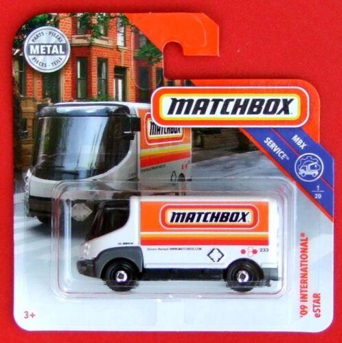 Matchbox 2018 /'09 International estar /< 6//125 neu/&ovp