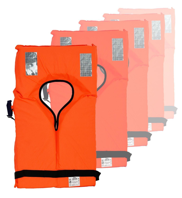 Rettungsweste Schwimmweste ISO 12402-4 12402-4 ISO Weste 100N Mengenwahl & Mengenrabatt NEU 72217f