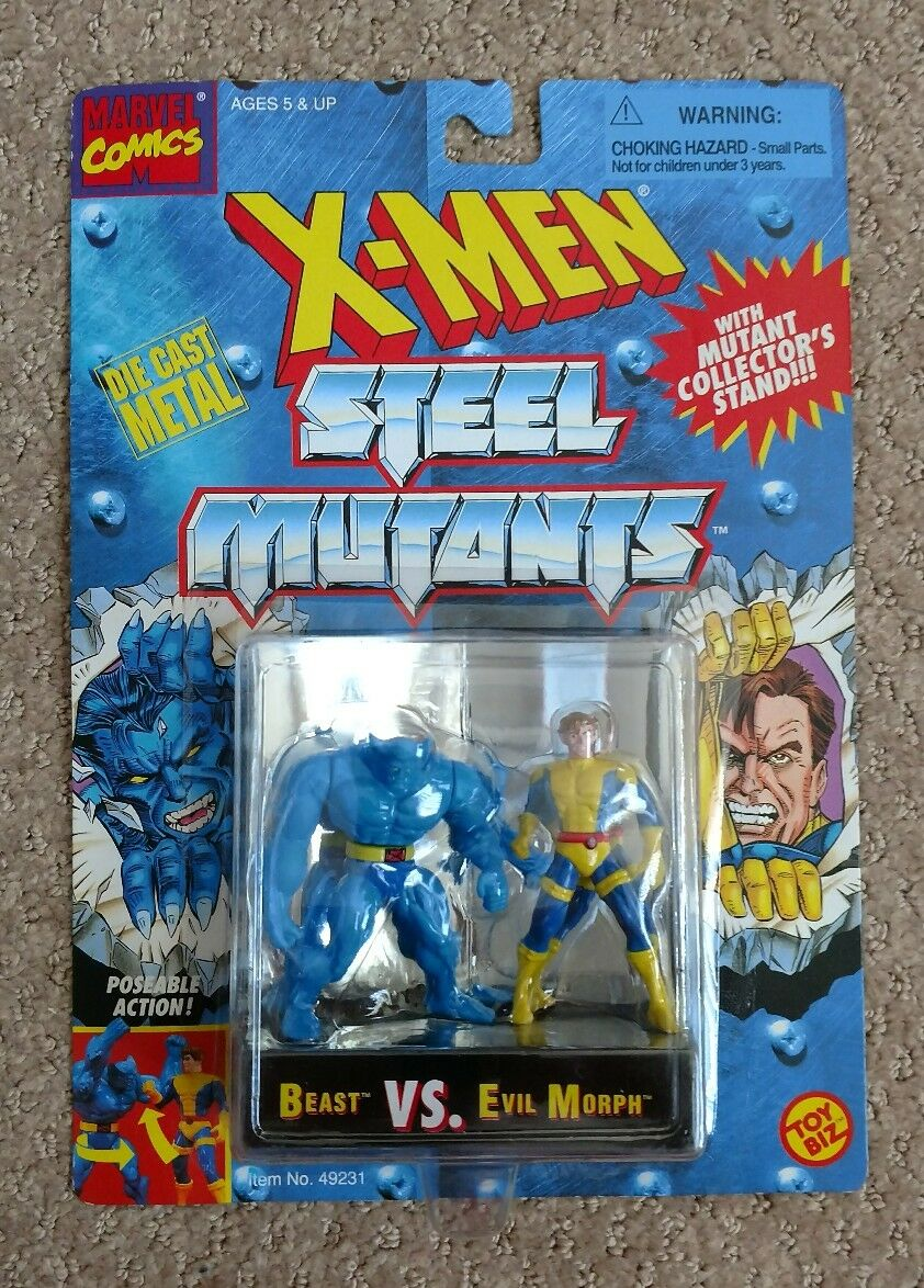 Marvel - x - men - stahl mutanten die-cast metall 2,75