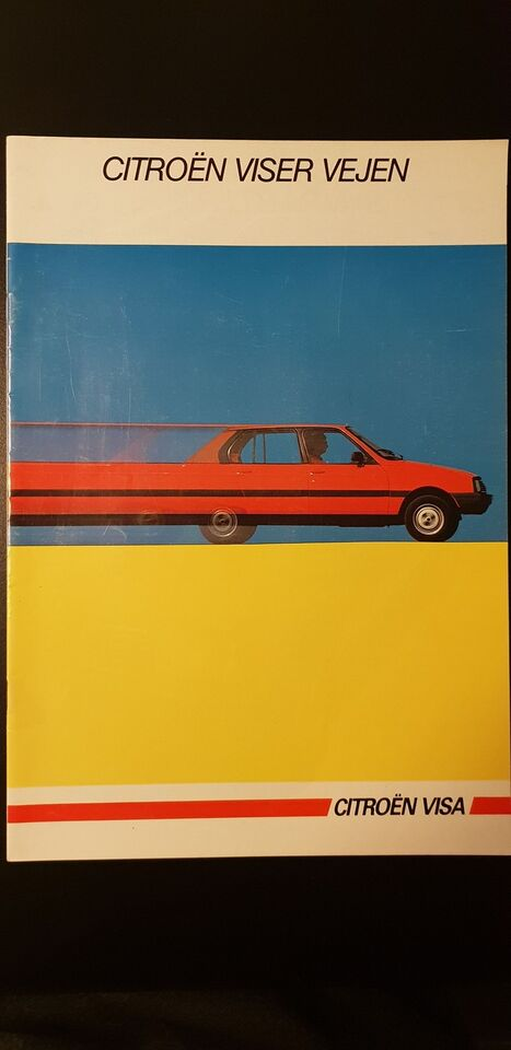 Brochure, Citroën Visa