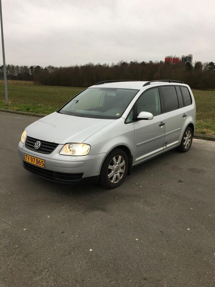 VW, Touran, 1,9 TDi 105 Trendline Van