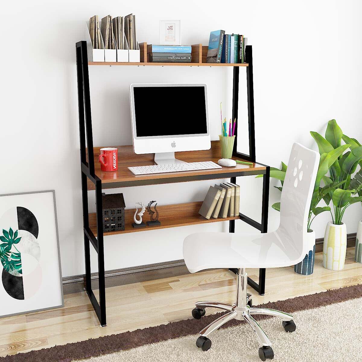 Office Desk Home Pc Laptop Computer Desks Table Study Gaming Desk Workstation Ebay
