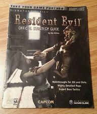 Resident Evil 1 Strategy Guide LOT - RARE OOP RE1 HD Remake Origins PS4 One