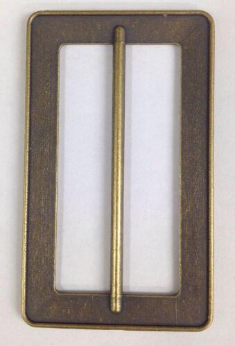 2 Inch Metal Antique Brass Effect Buckle
