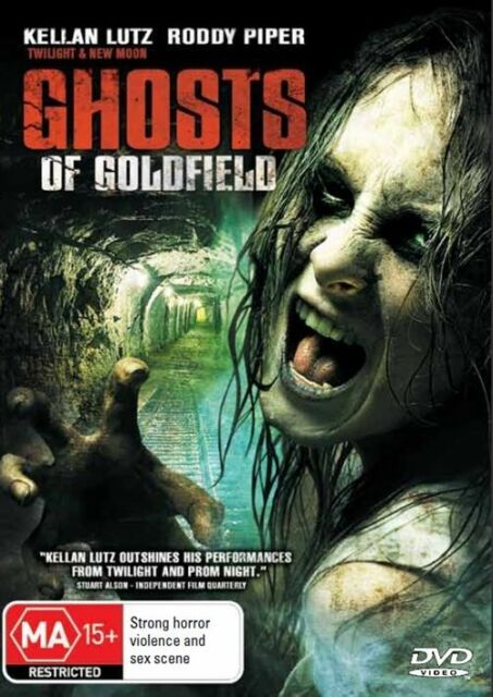Ghosts Of Goldfield (DVD, 2011)*R4*Terrific condition*Roddy Pipper