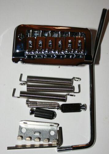 Tremolo für Strat und Co chrom variabele Bolzenbreite 63-66 mm