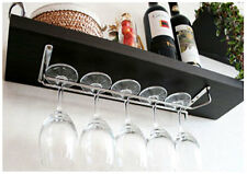 "Wine Glass Wall  Rack Holders Hanger / Chrome-plated  12""S ,15 3/4""L"