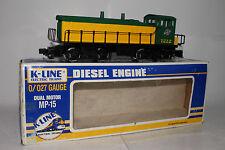 K-LINE O SCALE CHICAGO NORTHWESTERN MP-15 DIESEL LOCOMOTIVE ENGINE, NICE, BOXED