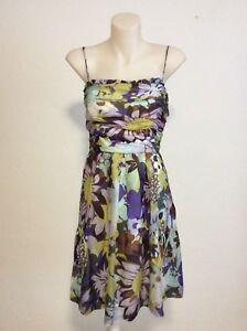 George-10-Printed-Silk-Cocktail-Dress
