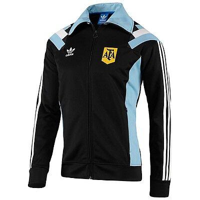 Details zu Adidas Originals Argentina TT 3S Track Top Zip Jacket Boys F77288