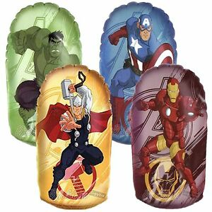 Image Is Loading 33cm Marvel Avengers Inflatable Boxing Punch Bop Bags