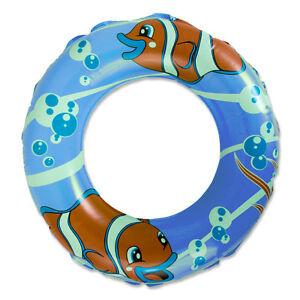 Schwimmreifen Schwimmring Badering Grün Blau Lila m. Sicherheitsven<wbr/>til NEU+OVP