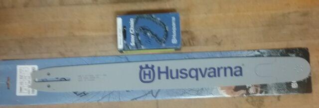 "OEM Husqvarna 24"" Bar & Chain Combo 3/8 .50 84 Fits 365, 372XP, 390XP, 395XP"