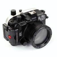 Meikon 40M Waterproof Underwater Camera Housing Case Bag for Canon PowerShot G7X